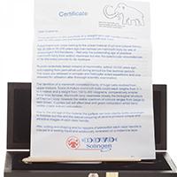 Köp denna rakkniv och få fin box och certifikat